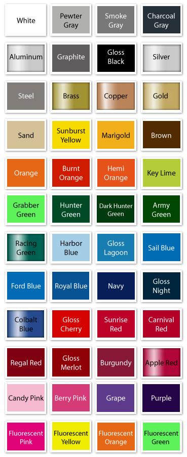 Font Color Menu