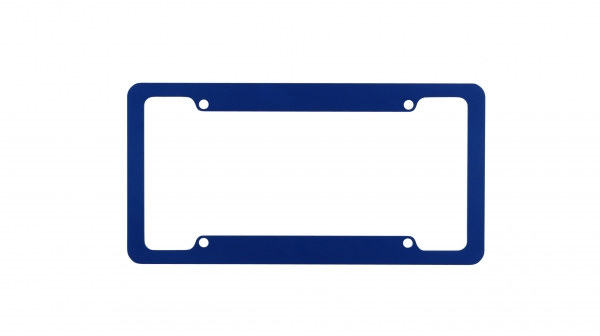 Blue License Plate Frames