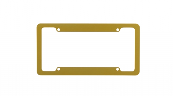 Gold License Plate Frames