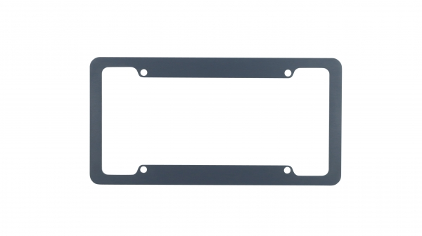Gray License Plate Frames