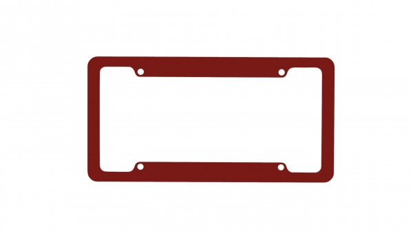 Red License Plate Frames