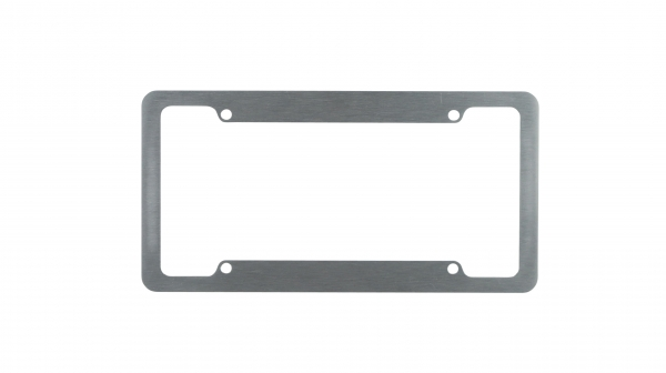 Aluminum License Plate Frames
